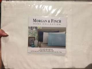 Morgan & Finch Queen size flat sheet
