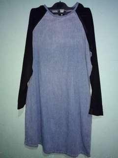 Dress TOPSHOP denim