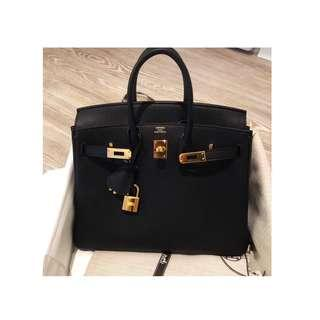 黑色系列愛馬仕同款包包