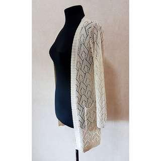 Pattern Knitted Cardigan