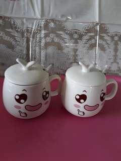 Beautiful Porcellin Cups.