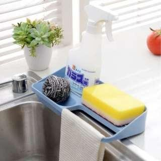 洗碗海綿架子 收納架 瀝水架 Dish sponge kitchen cloth holder kitchen sink organiser