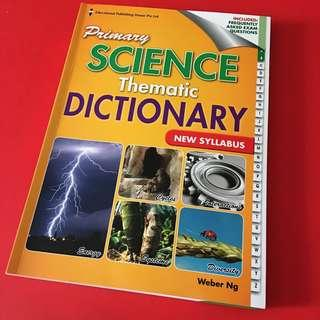"""BN Primary science thematic dictionary (EPH)"""""""