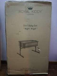 [NEW] Royal Kiddy 3in1 Night Angel (Baby Cot)