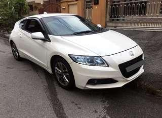 Honda CR-Z for rent