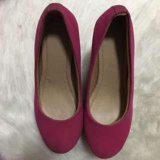 Pink Wedges 5 inch