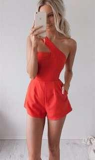 Runaway The Label One Night Playsuit | Size XS