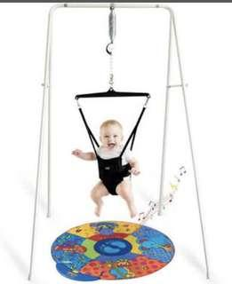 Jolly Jumper Original with Stand and Musical Play Mat