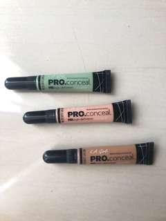 LA Girl Pro Conceal (bundle)