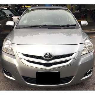 Toyota Vios (P PLATE FRIENDLY)
