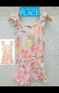 "SUPERDISKON!!12M-2Y Overall/Jumper/Jumpsuit Anak Floral Merk ""THE CHILDREN PLACE"""