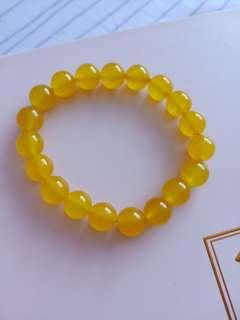 Yellow Crystal 8mm