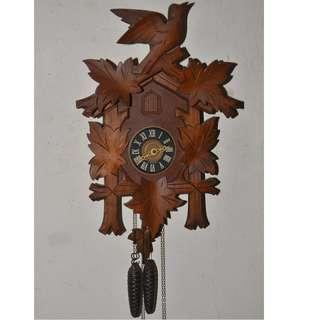 VINTAGE REGULA GERMANY MECHANICAL CUCKOO WALL CLOCK