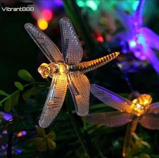 *REPRICED* Battery-powered Dragonfly String Lights