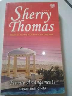 Sherry Thomas. Perjanjian cinta