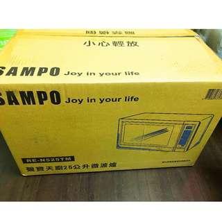 聲寶25L微電腦微波爐  #全新中獎贈品低價出售#原廠保固#