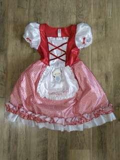 Red Riding Hood Dress Halloween