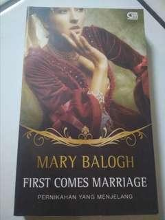 Mary Balogh. Pernikahan yang menjelang