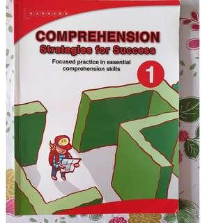 Learners Comprehension Strategies for success for P1