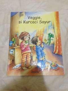 Veggie si Kurcaci Sayur - Buku Cerita