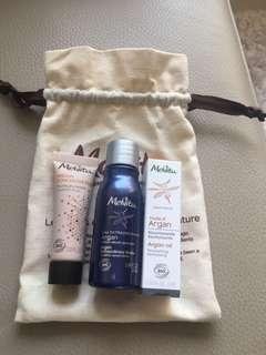 Melvita Argan travel set