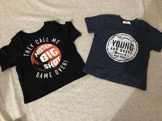 Shirt for boya