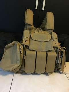 幽靈戰術背心 6094 jpc molly war game Tactical Vest
