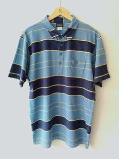 Patagonia polo shirt stripe