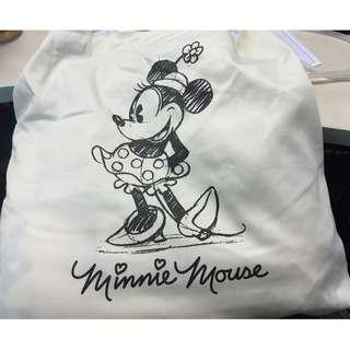Minnie Mouse Black & White big scarf and pregnancy pants (set)