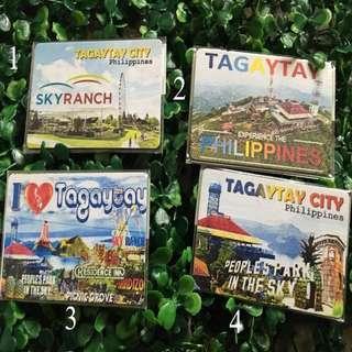 tagaytay souvenir ref magnet