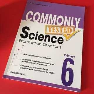 BN P6 commonly tested Science Examination Questions (EPH)