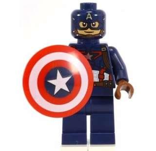 LEGO captain America minifigure avengers civil war marvel