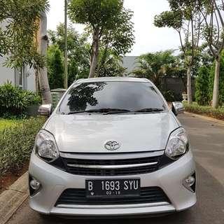 Toyota Agya G A/T 2014 Silver