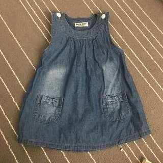 Zara Baby Jeans Dress