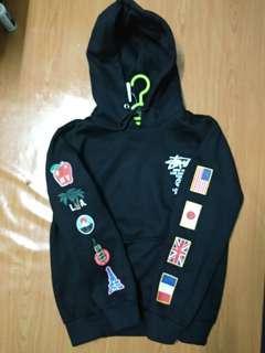 Stusty hoodie jacket
