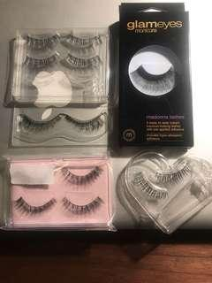 7 pairs falsies set (fake lashes)