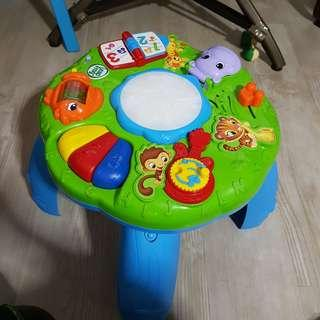 Leap frog music play station table