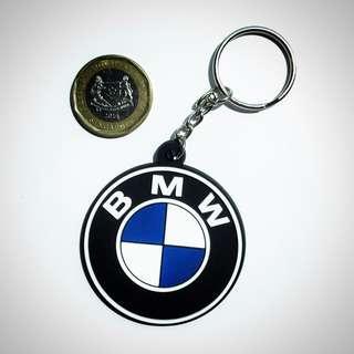 BN BMW Rubber Keychain