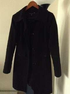 LeChateau black winter coat-Size XXS