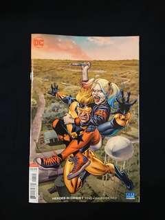 Heroes in crisis #1 J.G Jones cover