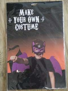 Make your own mask & wings Halloween