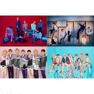 BTS LOVE YOURSELF ANSWER ALBUM POSTERS