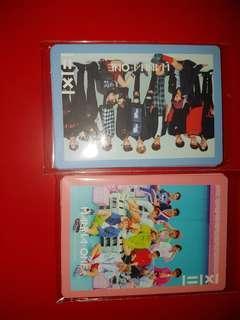 Wanna one 1X1=1 full album photocard