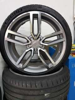 20 Inch 5x112 Used Audi Rims and Tyres