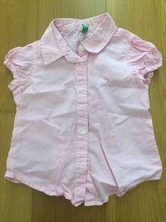 United Colours of Benetton girl's top 2y