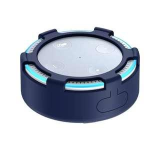 Amazon Echo Dot 2nd Generation Voice Control Assistant AI by Alexa ( Silicone Cover Protector )