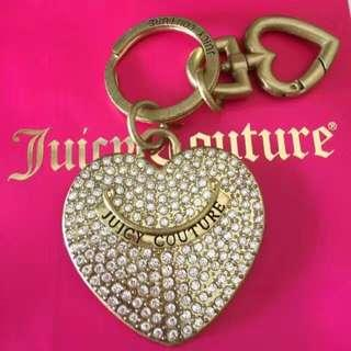 JUICY COUTURE key fob, bag charm