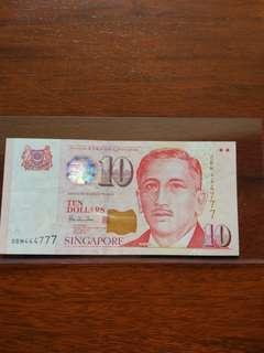 $10 HTT semi solid paper