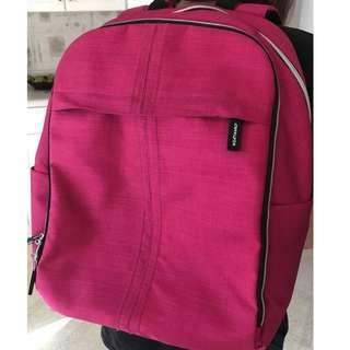 NEW BAG IKEA UPPTACKA Pink School Bag Laptop Backpack Travel Work