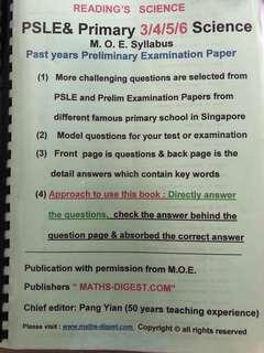 Pang Yian PSLE Primary 3/4/5/6 Science